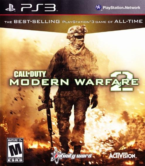 Call Of Duty Modern Warfare 2 Jogo Playstation 3