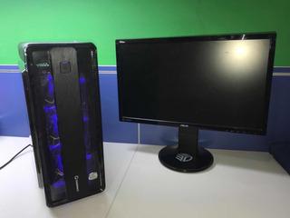 Pc Gamer, Astro A50, Monitor Asus Y Periféricos Thermaltake