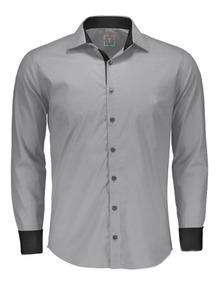 Camisas Social Masculina Slim Fit - Varias Estampas E Cores