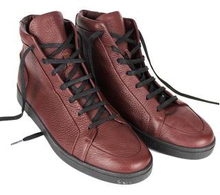 Sneakers Balenciaga High Top Leather Para Hombre Talla 9mx