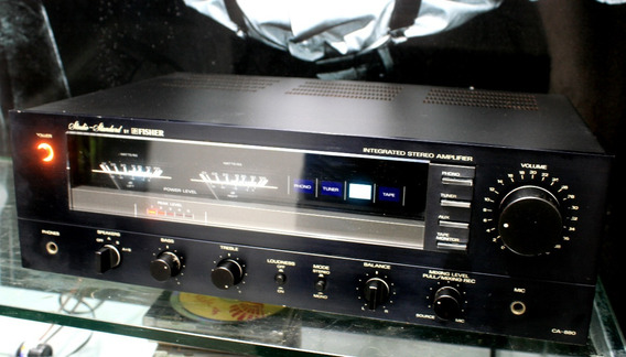 Amplificador Integrado Fisher Ca-880