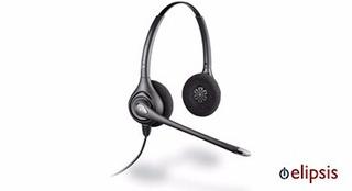 Audifono Y Microfono De Diadema Plantronics Hw261n Supraplus