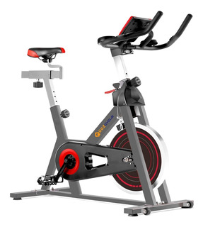 Bicicleta Profesional De Spinning Quuz Cycle C/disco De 13kg Gimnasios Clases Indoor