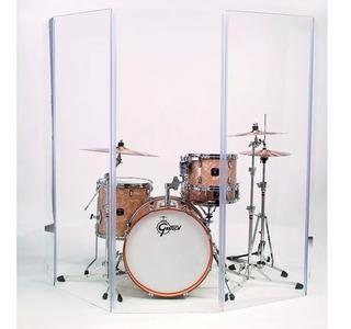 Alquiler Paneles Acrílico Plexiglas Escudo Batería Percusión