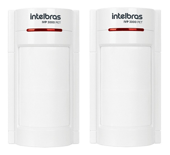Kit 2 X Sensor Infravermelho Pet Intelbras Ivp 3000 Pet