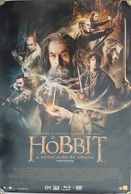 Pôster O Hobbit A Desolação De Smaug Dupla Face 93x63 Cm
