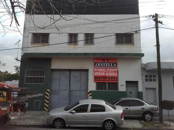 Galpón Industrial - Parabólico Y Losa - 630 M² Cubiertos - Tablada