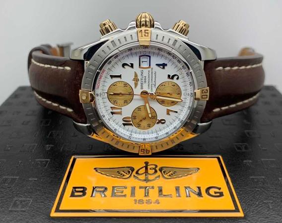 Breitling Chronomat Evolution Aço E Ouro 44mm
