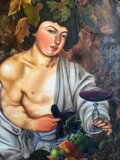 Baco, Dionicio, Pintura Al Óleo Sobre Tela.