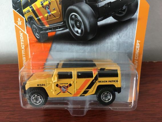 Mini Pickup Hummer H2 Suv Concept Da Matchbox Esc. 1/64