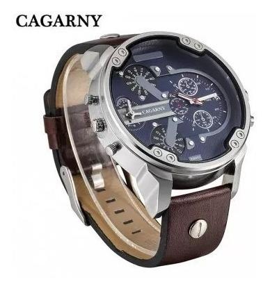 Relógio Masculino Cagarny Analógico Esportivo Importado