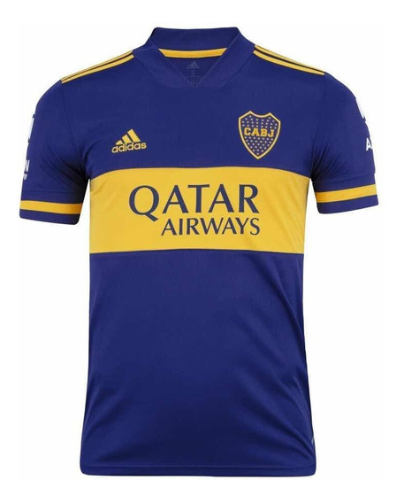 Camisa Boca Juniors 20/21 Azul - Masculina - Imperdível