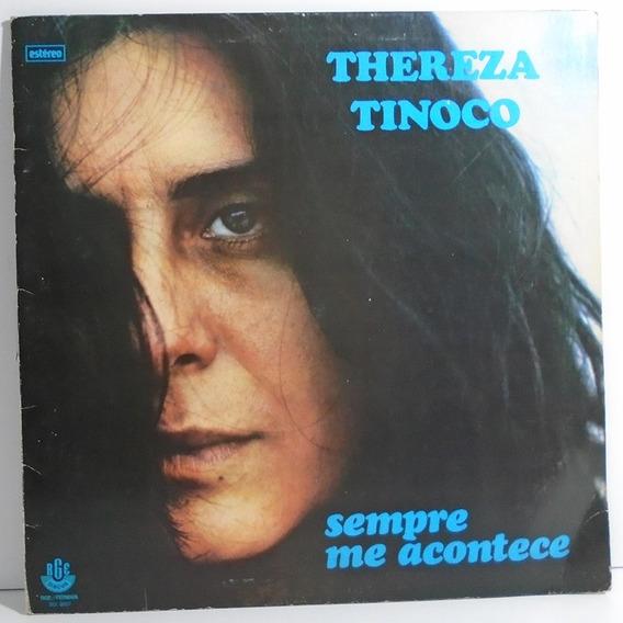 Thereza Tinoco 1979 Sempre Me Acontece Lp Capa Dupla
