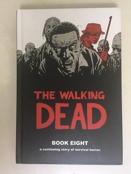 The Walking Dead Book 8 Capa Dura Com 12 Números