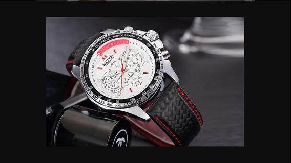 Relógios Original Quartz Top Marca De Luxo Executivo