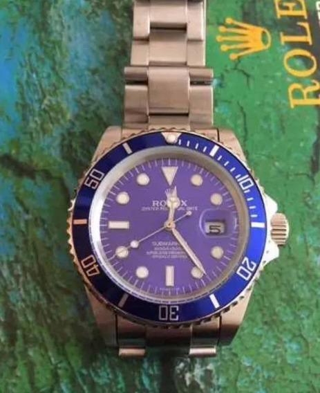 Rolex Submariner Blue Dial 90