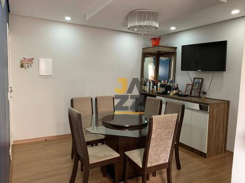 Apartamento Com 2 Dormitórios À Venda No Condomínio Parque Real, 60 M² Por R$ 245.000 - Jardim Dona Regina - Santa Bárbara D'oeste/sp - Ap6003