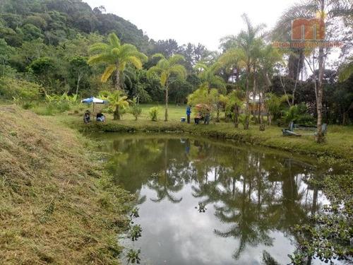 Imagem 1 de 24 de Chácara Com 4 Dormitórios À Venda, 30000 M² Por R$ 600.000,00 - Chacaras Iporanga - Peruíbe/sp - Ch0175
