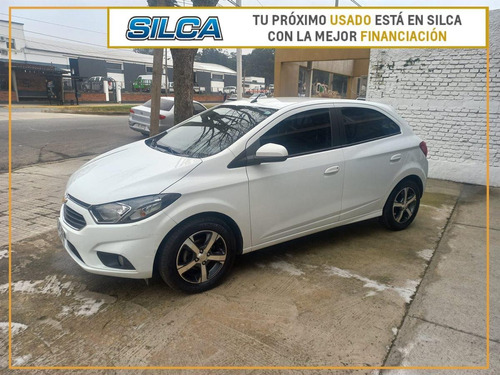 Chevrolet Onix Ltz 2017 Blanco 5 Puertas