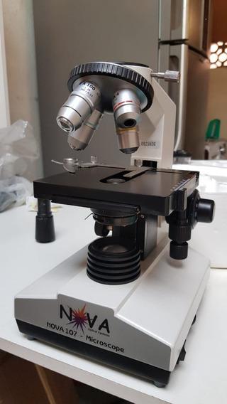 Nova 107 - Microscópio Biológico Binocular