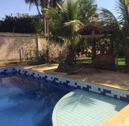 Chácara Com 3 Dormitórios À Venda, 1000 M² Por R$ 1.500.000,00 - Parque Da Represa - Paulínia/sp - Ch0472