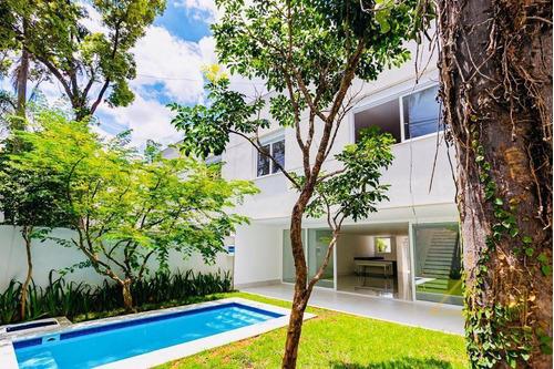 Hípica Garden | Casa Nova Em Condomínio Fechado,  Jardim, Piscina, Em Região Arborizada E Segura Na Rua Manoel Ribeiro Da Cruz, 200 - Granja Julieta - Ca0523