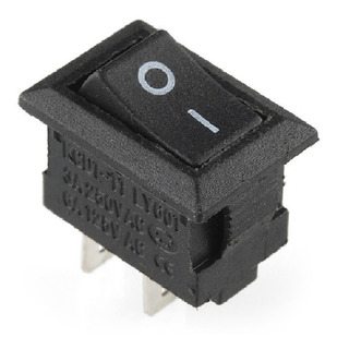 Botones Interruptores Mini Rocker Switch On-off 2pin Pequeño