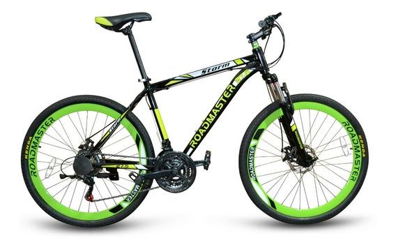 Bicicleta Roadmaster Storm 27,5 F.disco + Luces + Maleta