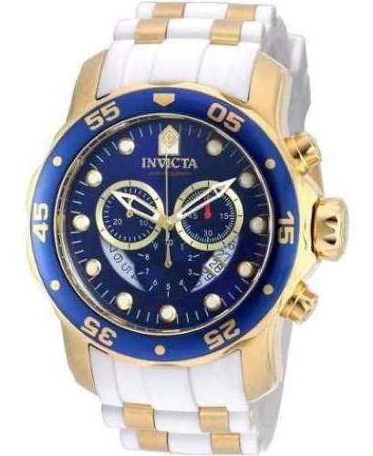 Relogio Invicta 20288 Scuba Pro Banhado Ouro 18 Black Friday
