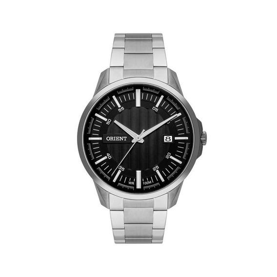 Relógio Orient Masculino Prateado Original Mbss1353 P1sx