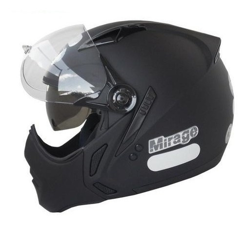 Capacete Moto Peels Mirage Classic Preto C Oculos