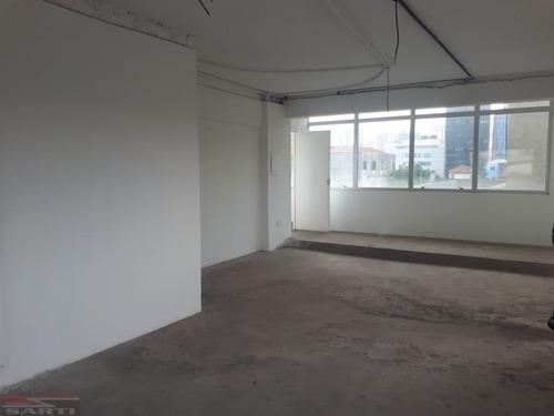 Imagem 1 de 5 de Excelente Sala Comercial Com 60 Metros, 02 Banheiros, 1 Vaga. Em Frente Ao Metro Carandiru - St11818