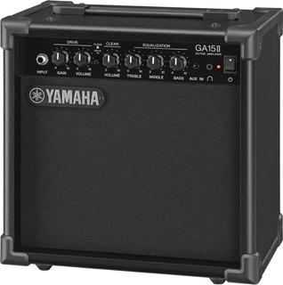 Yamaha Ga 15 Ii Amplificador 15 Watts P/ Guitarra Eléctrica