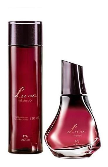 Kit Luna Intenso - Perfume Deo Parfum + Óleo Corporal - Natura