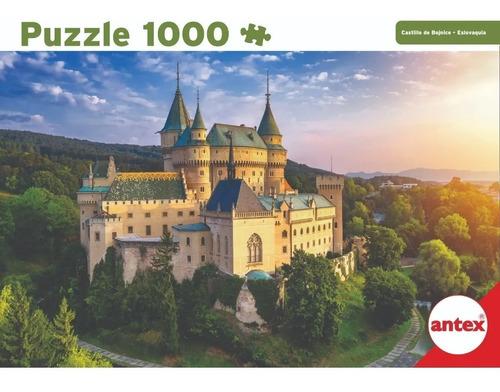 Imagen 1 de 3 de Puzzle 1000 Piezas Castillo Bojnice Eslovaquia Antex 3066 Ed