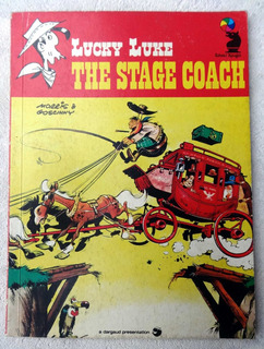 Hq - Lucky Luke - The Stage Coach - Knight Books - 1976