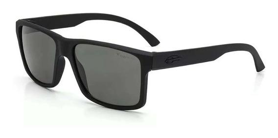 Óculos Mormaii Lagos Preto Fosco/lente G15 Polarizada M0074a