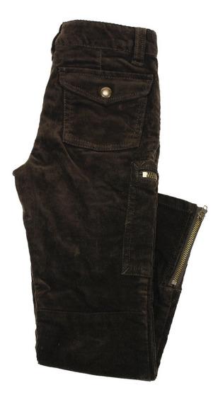 Pantalones Ralph Lauren Para Niñas Marrones De Algodón