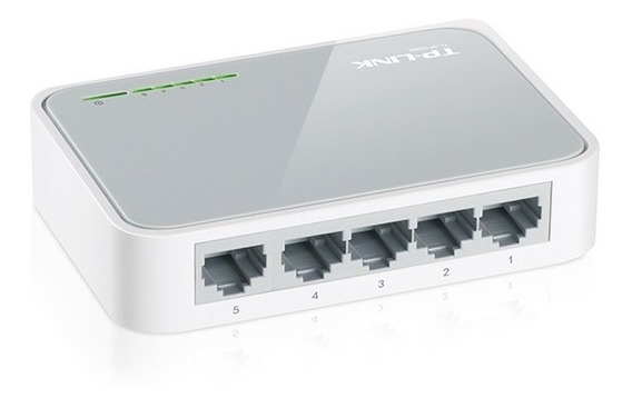 Switch 5 Puertos Tp-link Sf1005 10/100