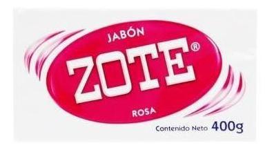 Zote Jabón De Lavandería Rosa Pieza 400g