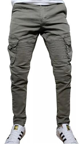 Pantalon Cargo Verde De Hombre Diseno Moderno Y Juvenil Mercado Libre