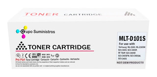 Toner Generico Mlt-d101s Para Samsung Ml2160 Scx3405 101s