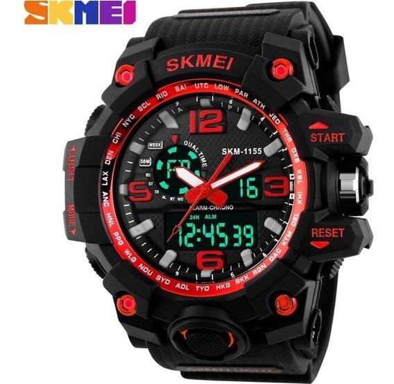 Relógio Skmei Original Modelo 1155 Vermelho Prova D