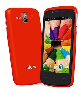 Telefono Celular Plum Axe Plus Z403 Rojo