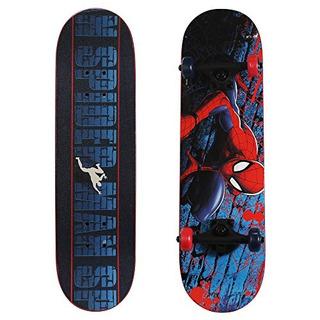 Playwheels Ultimate Spiderman 28 Skateboard Spidercrawl