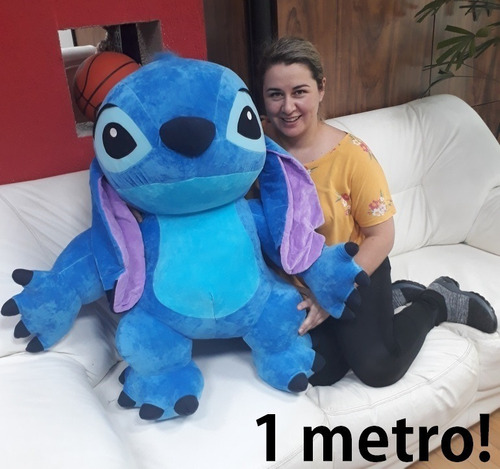 Pelúcia Little Stich Lilo 1 Metro Brinquedo Presente Criança