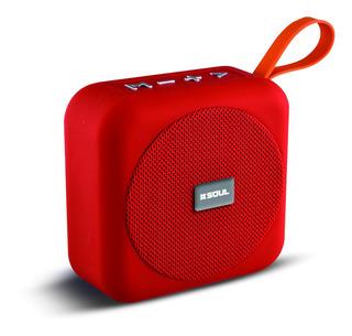 Parlante Bluetooth Soul Riff Usb Aux Microsd - Factura A / B