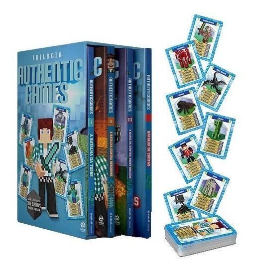 Box - Trilogia Authenticgames - 3 Volumes