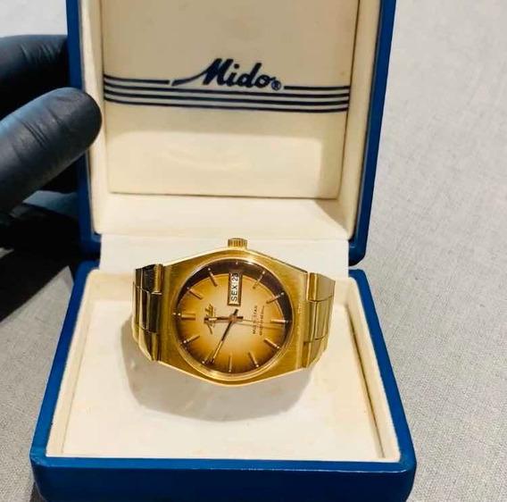 Relógio Pulso Mido Multi Star Ii Datoday Impecável