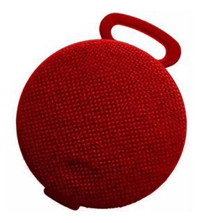Global Parlante Portatil Bluetooth 3w Rojo Sbl32r